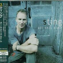 All This Time (Japanese Edition + Bonus Tracks) - CD Audio di Sting
