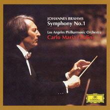 Sinfonia n.1 - CD Audio di Johannes Brahms,Carlo Maria Giulini,Los Angeles Philharmonic Orchestra