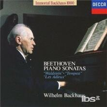 Beethoven.piano 21, 17 (Japanese Edition) - CD Audio di Ludwig van Beethoven,Wilhelm Backhaus