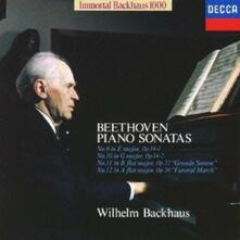Beethoven.piano9 - 12 (Japanese Edition) - CD Audio di Ludwig van Beethoven,Wilhelm Backhaus