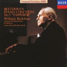 Concerto per pianoforte e orchestra n.5 Imperatore (Limited Edition) - CD Audio di Ludwig van Beethoven,Wilhelm Backhaus