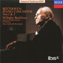 Beethoven.piano1&2 (Japanese Edition) - CD Audio di Ludwig van Beethoven,Wilhelm Backhaus