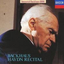 Haydn Recital (Japanese Edition) - CD Audio di Franz Joseph Haydn,Wilhelm Backhaus