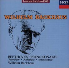 Sonate per pianoforte (Limited Edition) - CD Audio di Ludwig van Beethoven,Wilhelm Backhaus