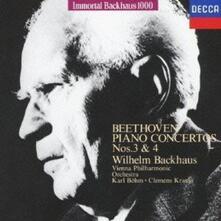 Concerti per Pianoforte n.3, n.5 (Japanese Edition) - CD Audio di Ludwig van Beethoven,Wilhelm Backhaus