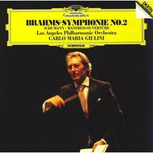Sinfonia n. 3 / Manfred Ouverture - CD Audio di Johannes Brahms,Robert Schumann,Carlo Maria Giulini,Los Angeles Philharmonic Orchestra