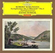 Sifonia n.3, n.4 - CD Audio di Robert Schumann,Rafael Kubelik,Berliner Philharmoniker