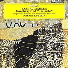 Sinfonia n.6 Tragica - CD Audio di Gustav Mahler,Rafael Kubelik,Orchestra Sinfonica della Radio Bavarese