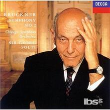 Bruckner. Symphony No.2 (Japanese Edition) - CD Audio di Anton Bruckner,Georg Solti,Chicago Symphony Orchestra