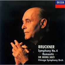 Sinfonia n.4 (Japanese Edition) - CD Audio di Anton Bruckner,Georg Solti