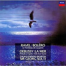 Bolero / La mer (Reissue Remastered) - CD Audio di Claude Debussy,Maurice Ravel,Georg Solti,Chicago Symphony Orchestra