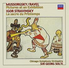 Stravinsky. Le Sacre du (Japanese Edition) - CD Audio di Igor Stravinsky,Georg Solti