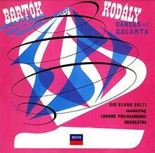 Musica per percussioni e celesta / Danze di Galánta (Remastered) - CD Audio di Zoltan Kodaly,Bela Bartok,Georg Solti,London Philharmonic Orchestra