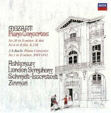 Concerti per Pianoforte n.6, n.20 - Concerto per Pianoforte n.1 (Japanese Edition) - CD Audio di Johann Sebastian Bach,Wolfgang Amadeus Mozart,Vladimir Ashkenazy