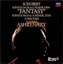 Sonate per pianoforte n.14, n.18 - CD Audio di Franz Schubert,Vladimir Ashkenazy