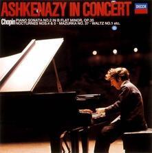 Ashkenazy in concerto (Japanese Limited Edition) - CD Audio di Fryderyk Franciszek Chopin,Vladimir Ashkenazy