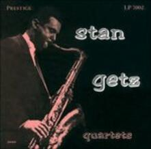 Stan Getz Quartets (Japanese Limited Edition + Bonus Tracks) - CD Audio di Stan Getz
