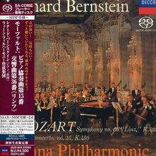 Mozart. Concerto per Pianoforte (Japanese Edition) - SuperAudio CD di Leonard Bernstein,Wolfgang Amadeus Mozart