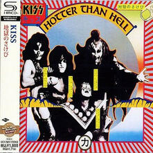 Hotter Than Hell (Japanese SHM-CD) - SHM-CD di Kiss