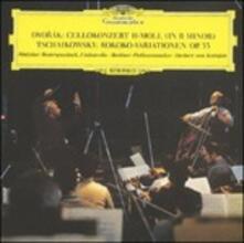 Opere per violoncello e orchestra (Japanese Edition) - SuperAudio CD di Antonin Dvorak,Pyotr Ilyich Tchaikovsky,Herbert Von Karajan,Mstislav Rostropovich,Berliner Philharmoniker