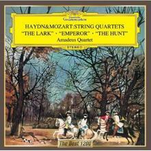 Quartetti per archi - CD Audio di Franz Joseph Haydn,Amadeus Quartet