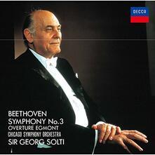 Sinfonia n.3 - Egmont Overture (Japanese Reissue) - CD Audio di Ludwig van Beethoven,Georg Solti