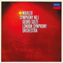 Sinfonia n.1 (Japanese Edition Remastered) - CD Audio di Gustav Mahler,Georg Solti,London Symphony Orchestra