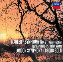 Sinfonia n.2 (Japanese Reissue Edition) - CD Audio di Gustav Mahler,Georg Solti,London Symphony Orchestra,Heather Harper,Helen Watts