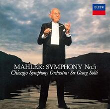 Sinfonia n.5 (Japanese Reissue Edition) - CD Audio di Gustav Mahler,Georg Solti,Chicago Symphony Orchestra