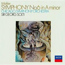 Sinfonia n.6 (Japanese Reissue Edition) - CD Audio di Gustav Mahler,Georg Solti,Chicago Symphony Orchestra