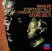 Sinfonia n.9 (Japanese Reissue Edition) - CD Audio di Gustav Mahler,Georg Solti,London Symphony Orchestra