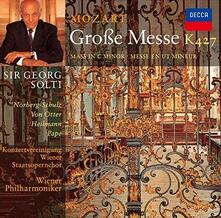 Messa in Do minore K427 (Remastered) - CD Audio di Wolfgang Amadeus Mozart,Georg Solti,Wiener Philharmoniker