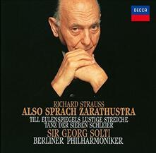 Also Sprach Zarathue (Reissue) - CD Audio di Richard Strauss,Georg Solti,Berliner Philharmoniker