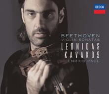 Sonate per Violino Complete - CD Audio di Ludwig van Beethoven,Leonidas Kavakos