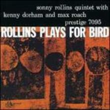 Plays for Bird (Japanese Edition) - CD Audio di Sonny Rollins