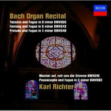 Bach Organ Recital (Japanese Edition) - CD Audio di Johann Sebastian Bach,Karl Richter
