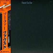 So Far (Japanese Edition) - CD Audio di Faust