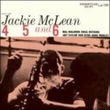 4, 5 & 6 (Japanese Edition) - CD Audio di Jackie McLean