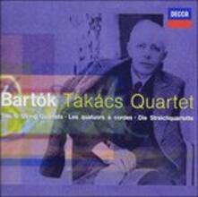 String Quartet. Songs (Japanese Edition) - CD Audio di Bela Bartok,Takacs Quartet