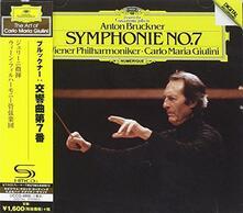 Sinfonia N.7 (Japanese Edition) - CD Audio di Anton Bruckner