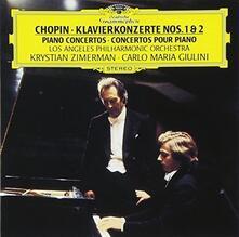 Concerti per Pianoforte N.1, N.2 (Japanese Edition) - CD Audio di Fryderyk Franciszek Chopin