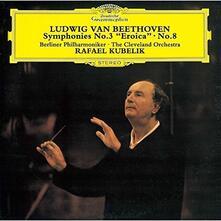 Sinfonie n.3, n.8 - SHM-CD di Ludwig van Beethoven,Rafael Kubelik,Cleveland Orchestra,Berliner Philharmoniker