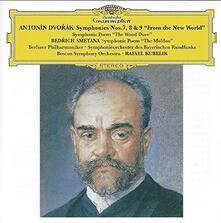 Sinfonie N.7, N.8, N.9 (Japanese Edition) - CD Audio di Antonin Dvorak