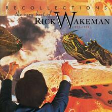 Recollections. The Very Best of Rick Wakeman - CD Audio di Rick Wakeman