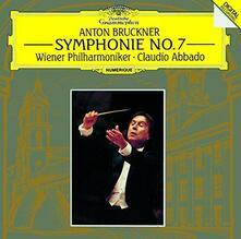 Bruckner. Sinfonia n.7 (Japanese Edition) - CD Audio di Anton Bruckner,Claudio Abbado