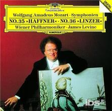 Mozart. Symphonies 35 (Japanese Edition) - CD Audio di Wolfgang Amadeus Mozart,James Levine