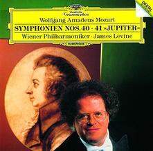 Mozart. Symphonies Nos (Japanese Edition) - CD Audio di Wolfgang Amadeus Mozart,James Levine