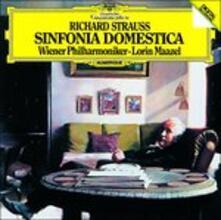 R. Strauss. Sinfonia (Japanese Edition) - CD Audio di Richard Strauss,Lorin Maazel