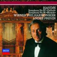 Haydn. Symph. Nos. 92 & (Japanese Edition) - CD Audio di Franz Joseph Haydn,André Previn