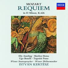 Mozart. Requiem (Japanese Edition) - CD Audio di Wolfgang Amadeus Mozart,Istvan Kertesz